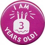 Am implinit 3 ani!