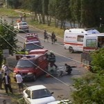Accident rutier grav pe strada Libertatii