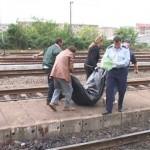 Accident feroviar la intrarea in Buhusi. Un barbat a fost taiat de tren.