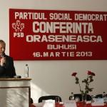 Conferinta Orasaneasca a filialei PSD Buhusi