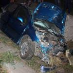 Un buhușean de 26 de ani s-a urcat la volan băut și s-a oprit cu mașina într-un cap de pod