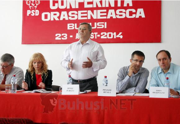 Conferința orășenească a PSD Buhuși