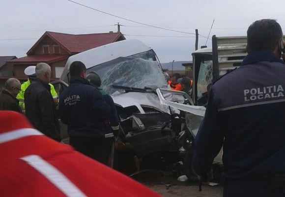 Accident grav de circulație
