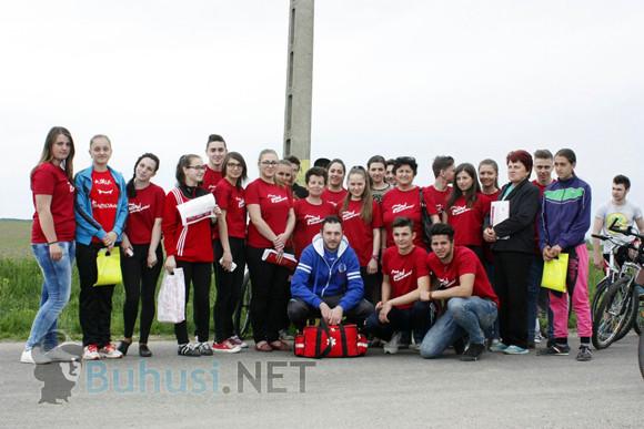 Activități ale voluntarilor buhușeni în cadrul SNV 2015