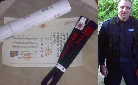 Un jandarm buhușean, liderul național la full contact karate