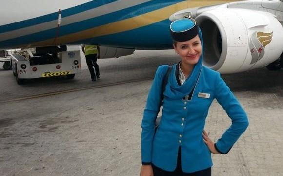 """Livia Velnic, stewardesa: """"Acolo sus, în avion, e altceva: e sentimentul ca am ajuns atât de aproape de Dumnezeu!"""""""
