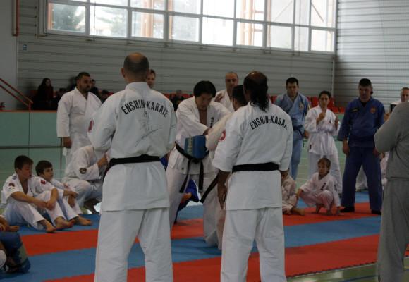 Elita mondială a stilului Enshin Karate, două zile de poveste la liceenii buhușeni