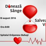 Campanie de donare de sânge