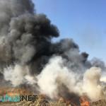 Incendiu în zona Chebac
