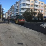 Reabilitarea străzii Alexandru Ioan Cuza este aproape de final