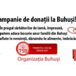 Campanie de donații la Buhuși organizată de TSD Buhuși