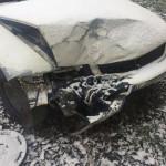 Buhușean de 27 de ani, fără permis, reținut după ce a condus beat, a provocat un accident și a fugit de la locul faptei