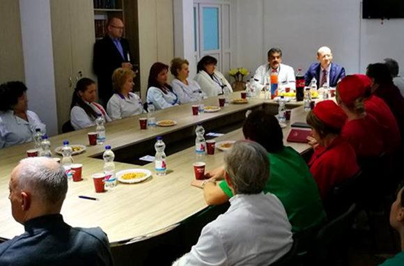 Vizite de audit la Spitalul Orasenesc Buhusi in vederea mentinerii standardelor de calitate ISO 9001, ISO 22000 si obtinerii OHSAS 18001