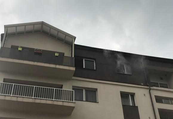 Incendiu la unul din apartamentele ANL
